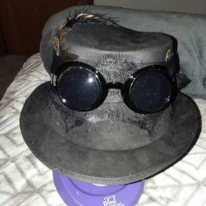 Victorian Steampunk Fedora Hat